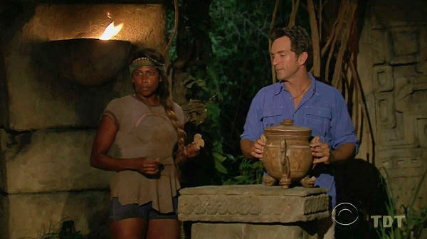 F5 Tribal Council, idoling out Baylor