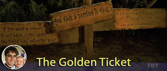 Cliffhanger edition - The Golden Ticket