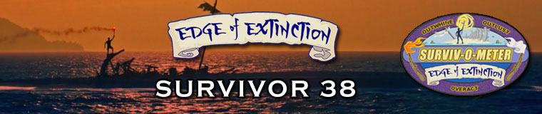 Survivor 38: Edge of Extinction content
