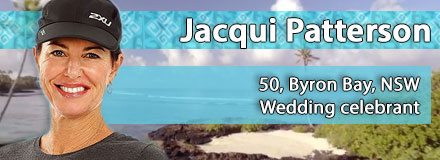 Jacqui Patterson, 50, Byron Bay, NSW